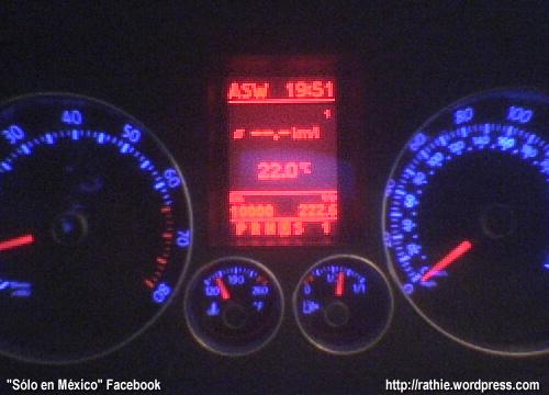 10,000 Km de mi coche=)